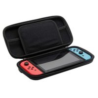 Wholesale games deluxe - 2017 Deluxe Carrying Case Hard Protective Bag for NS Switch Game Card Jon Con Controller Protective EVA Hard Carry Bag Shockproof