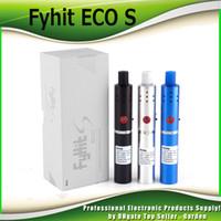 Wholesale Eco Kits - Original Ciggo Herbstick Fyhit ECO S Herbal Vaporizer Starter Kits 2200mah Dry Herb Vaporizer Vape Pen Kit with Ceramic Coil 100% Authentic