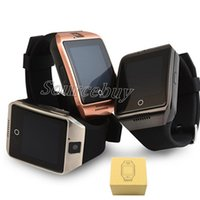 Wholesale Cheap Bluetooth Camera For Android - New Q18 Cheap Smart Watch with Touch Screen Camera SIM TF Card Bluetooth NFC Wireless Connect Smartwatch for Android IOS Phone Free shipping