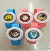 Wholesale Eco Drive Watches - 2017 Factory direct sale drive midge buckle Drive midge watches Children cartoon anti-mosquito watches Baby mosquito repellent products