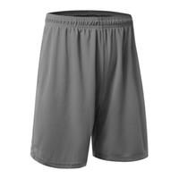 erkekler için kapris şortları toptan satış-Toptan Satış - Rahat Aktif Şort Erkek Pantolon Eelastic Marka Erkek Şort Kapriler Moda Diz boyu İnce Şort Çabuk kuruyan