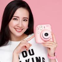 Wholesale Fuji Media - Wholesale Fashion Fuji mini8 suite a Polaroid camera self timer lomo Polaroid film camera imaging free shipping