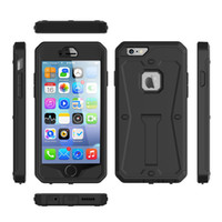 Wholesale Iphone Uv - HOT!Luxury Doom armor Dirt Shock Waterproof Matte UV cell phone case For iphone 6S Plus 7 7plus Samsung cover+Tempered glass free shipping