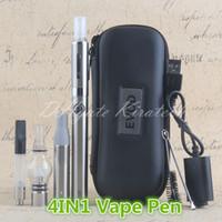 ingrosso evod erba secca vaporizzatori penna-4 in 1 penne vaporizzatore vaporizzatore cera Wee Wee Vapes MT3 Eliquid eVod 4in1 Ecig Starter Kit Cina elettrico