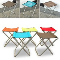 Atacado-Household Supplies Lazer Portable Folding Oxford pano Cadeiras Stool Personalizada Viagem Small Sealing Net Pano NXH1927