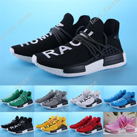 Wholesale Cheap Solid Real - 2017 Cheap NMD Human Race Boost Orange With Real Carbon Fiber Humanrace NMD Fashion Casual mens Running Shoes for men sneakers Size 36-45