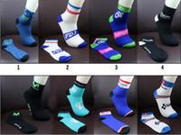 Wholesale cotton football socks online - Outdoor Sports Socks Summer For Men And Women Bike Riding Hose Pure Cotton Good Wear Resistance Boat Sock Hot Sale yk F