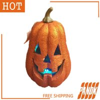 Wholesale Home Decorating Ornaments - Wholesale-Halloween Pumpkin Props Halloween Party Pumpkin Decorations KTV bar Pumpkin Decorated Props Home ornaments Free shipping