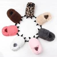 Wholesale Cute Babies Photo Pink - Cute Modeling Monster Paw Baby Worm Slippers 2017 Winter Baby Shoes First Walkers Photo Props Accessories Baby YAN-757