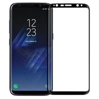 Wholesale Edge Covers - For S8 Screen Protector Full Cover 3D Curved 0.2 mm Tempered Glass Screen Protector Shield Colors For S8 Plus S7 Edge S6 With Retail Package