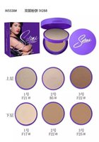 Wholesale Free Decks - HOT NEW Selena Collection Face Powder Double-deck 3 color Free shipping 1pcs