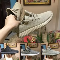 Wholesale Blue Turtles - Top Quality Boost 350 Pirate Black Moonrock Grey Oxford Tan White Turtle Dove Kanye West accept size eur 36-46 With Box