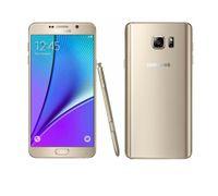 android t мобильный телефон оптовых-Samsung Galaxy Note 5 N920A ATT Оригинальный разблокированный GSM Android мобильный телефон 4 ГБ ОЗУ 32 ГБ ПЗУ Quad-coreQuad-Core 5.7