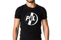 Compra Immagini Postali-T-shirt con logo Pik Punk Band Public Public - Post-punk, T-Shirt Fashion Rock sperimentale Slim Fit O-Neck Top Tee Taglie forti