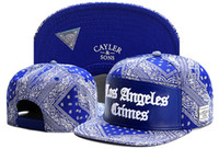 Wholesale Los Angeles Baseball Cap Black - Cayler & Sons Los Angeles Crimes Cashew flowers baseball caps snapback hats sports summer gorras casquette bone hip hop for men women