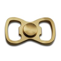 Wholesale Metal Toy Bow - Multi-funtion Pure Copper Gyroscope Bow Tie Operner Anti Autism and ADHD Time Killer Metal Fidget Spinners Stress Reliever Fidget toy
