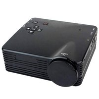 Wholesale Home Multimedia Systems - Wholesale-10pcs lot H80 Bright 80LM HD 1080P Mini LCD Image System Multimedia LED Projector Home Theater Cinema Digital Projectors