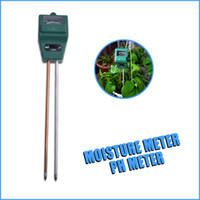 Wholesale High Quality Soil Moisture Meter - Wholesale-3 in1 Plant Flowers Soil Moisture Light PH Meter Tester high quality 1pcs