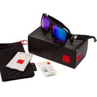 Wholesale multi coloured sunglasses for sale - Group buy Factory sale sunglasses for men women fashion sunglasses designer sunglasses big frame sun glasses dazzle colour Eyewear QS729