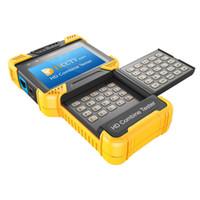 Wholesale Ip Camera Rj45 - DT-T60 4.0 Inch 1080P HD CCTV TESTER IP Camera Tester Combine Tester support ONVIF 2.4.1 RJ45 BNC 12V 1A Power