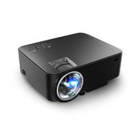 Wholesale M1 Led - Wholesale-Watco M1 Multimedia Mini Portable LED Projector 800*480 1000 lumens Support 1920*1080 Home Theater PC USB HDMI AV VGA SD