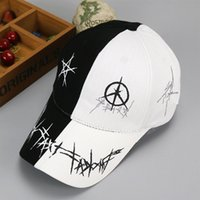 Wholesale Coolest Snapback Hats Designs - New Spring Summer Men Women Unisex Adjustable Baseball Cap cool design Snapback Hip-Hop Hats Sun Hat