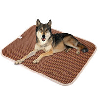 Wholesale Mattress Cool - 2017 Summer Pet Dog Cat mats Cooling Mat Rattan Mattress Pet Cushion Bed size M-XL