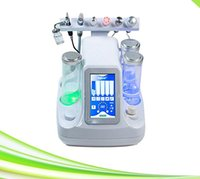 Wholesale Crystal Facial Machine - 6 in 1 oxygen spray facial water microdermabrasion machine microdermabrasion cleaning skin crystal microdermabrasion machine price