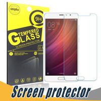 Wholesale Mi Glass - Tempered Glass Film Screen Protector Explosion Shatter 9H 2.5D Anti Scratch For Xiaomi Mi5 Mi4 Mi 3 5 5C 5Plus 4S 4C Note 2