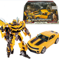 Wholesale Human Alliance - TRANSFORMERS BUMBLEBEE HUMAN ALLIANCE ROBOT TRUCK CAR ACTION FIGURES KID