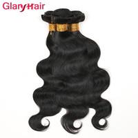 Wholesale hair weave bundles online resale online - Cheap Mink Brazilian Hair Bundles Unprocessed Virgin Hair Bundle Deals Glary Body Wave Straight Human Hair Weaves Best Selling Items Online