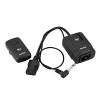 Wholesale 16 Channel Flash Trigger - Wholesale- Godox DM-16 Studio Wireless Remote Flash Trigger 16-Channel Shutter Release Transmitter & Receiver for Cameras