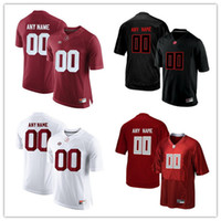 Wholesale Alabama M Football - Custom Alabama Crimson Tide College Football Limited black red white gray Personalized Stitched Any Name Number #9 Scarbrough Jerseys S-3XL