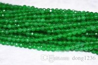 "Wholesale Natural Emerald Gemstone Beads - New 6mm Natural Emerald Faceted Loose Beads Gemstone 15""AAA"