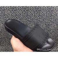 Wholesale Bowtie Sandals - 2017 Men's Palazzo Medusa Slide Sandals Slippers Mens Shoes