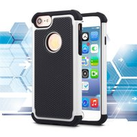 Wholesale Iphone 5c Ballistic - Football 3 in 1 Rugged ballistic Impact Combo PC+silicone Case cover For iphone 4 5 5S SE 5C IPHONE 6 6S 7 6 PLUS 7 PLUS TOUCH 4 5 6 50PCS