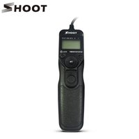 Wholesale Timer Remote Dc2 - SHOOT MC-DC2 Timer Remote Shutter for Nikon D3100 D7000 D90 D600 D610 D3200 D3300 D5000 D5100 D5200 D5300 Digital SLR Cameras