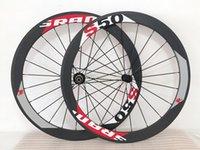 Wholesale Carbon Bike Wheel Sram Hub - carbon wheel SRAM NEW arrival!! new design road bike wheels carbon wholesale bicycle clincher+ spokes+ hubs