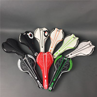Wholesale mountain imitation leather online - In stock Prologo saddles MTB bike saddle bicycle seat light weight mm with g
