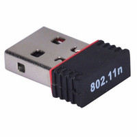 150 Mbps Mini Wireless USB Adattatore WiFi Adattatore Ethernet Wi-Fi Scheda LAN di rete per laptop PC Win10 Mac OS, Chipset MT7601 Linux