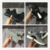 Wholesale New Oxford Khaki - New Boost 350 boosts Moon Rock for Men Women Sneakers Kanye West 350 Pirate Black Turtle dove grey Oxford Tan outdoor shoes walking shoes