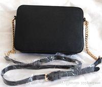 Wholesale Gold Satin Purse - 2017 Leather handbag European designer handbags Shoulder Bags Classic Messenger Bags famous purse wallet tote bags messenger bag