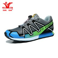 Wholesale Waterproof Trail Shoes Men - XIANG GUAN Mens Outdoor Running Sneakers Man Athletic Trainer Light Confortable Walking Shoes Male Flat Trail Run Free Shoe