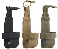 porta-garrafa de sacola cintura venda por atacado-Bolsa de Caça Minimalismo Ao Ar Livre Molle Garrafa De Água Bolsa Carrier Cantina Titular Saco Da Cintura