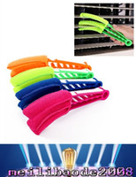 Wholesale Microfibre Window Cleaner - 2017 NEW washable cleaning brush Microfibre Triple Blinds Venetian Slats Blind Dust Cleaner Duster FREE SHIPPING MYY