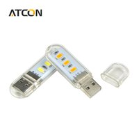 led usb lamp mobile charger prices - 1Pcs New Mini USB LED Night light Camping lamp For Reading Bulb Laptops Computer Notebook Mobile Power Charger Warm White