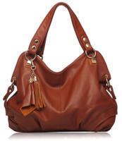 bolsas de couro grande hobo venda por atacado-Lona moda breve bolsa de ombro Interior Zipper bolso bolsa grande saco de couro genuíno Zipper Hobos Casual