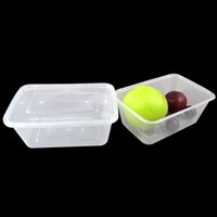 Wholesale Plastic Lunchboxes - 1000ml Disposable storage Box Transparent Heat Resistant Plastic Packing box Food Container Fresh Fruit Vegetables Lunchboxes