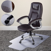 Wholesale PVC Home Office Chair Floor Mat Studded Back with Lip for Standard Pile Carpet