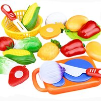 Wholesale Wholesale Pretend Play For Kids - WholeSale Price 12PC Cutting Fruit Vegetable Pretend Play Children Kid Educational Toy Pretend Play toys for children
